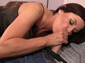 Brrunette Cougar luvs her stepson is..