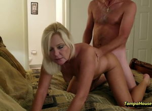 Insatiable Housewife Enjoys to Get..