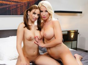 Tiffany Rousso & Azure Angel in Nosey..