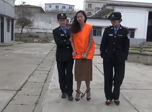 Asian Damsel at Prison Mummy