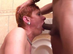 Mature Restroom Pee bitch pt 5 1080p