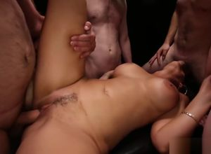 Gang-fuck Internal cumshot - Syren..