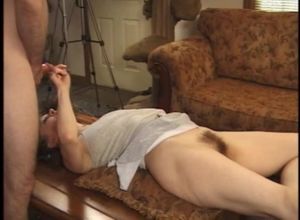 Cougar drilling on coffee table