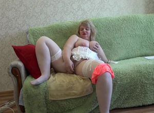 chesty milf, ravages his fur covered..
