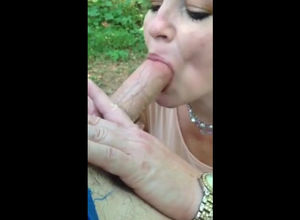 Mind-blowing ash-blonde mummy licking..